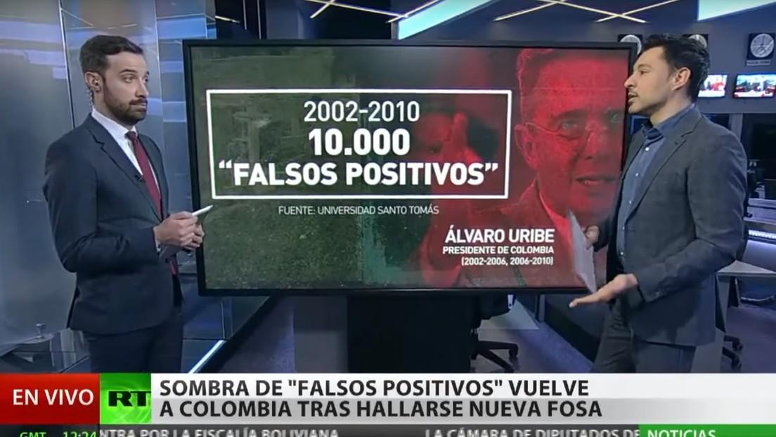 """El hallazgo de una nueva fosa común reabre el tema de los """"falsos positivos"""" en Colombia"""