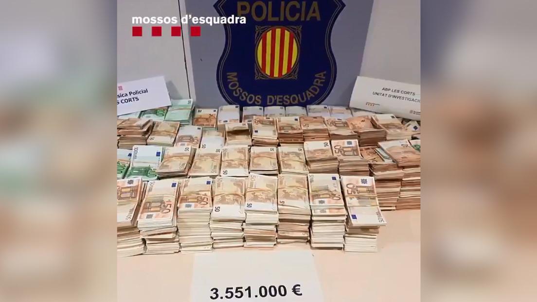 Un excura estafaba a ancianas y fue detenido con más de 3,5 millones de euros en efectivo