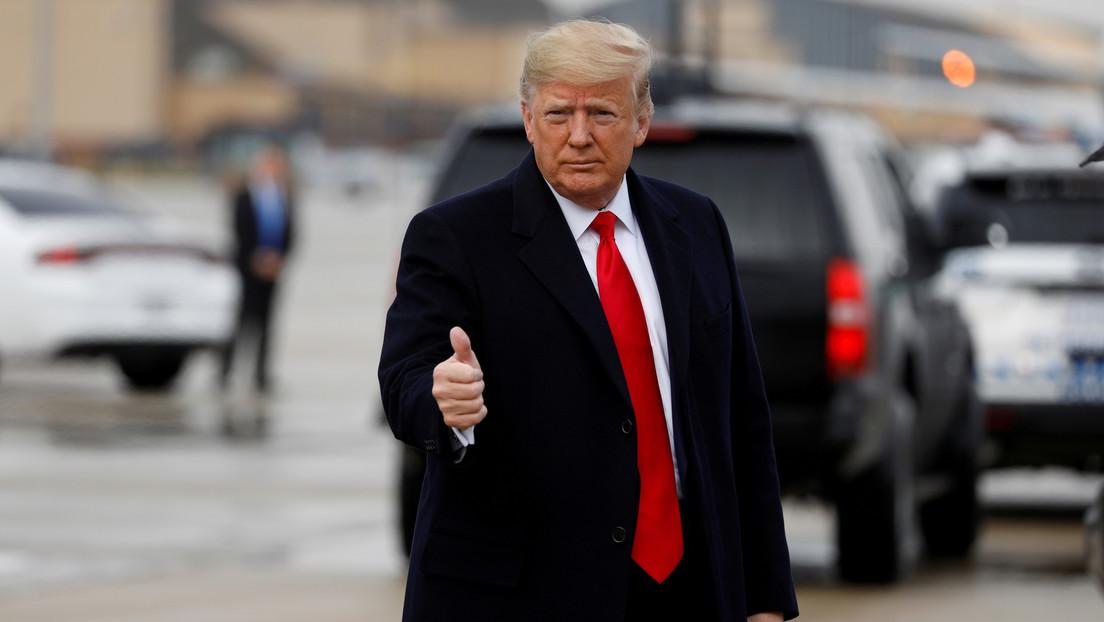 """Trump demanda que el Senado considere """"inmediatamente"""" su 'impeachment'"""
