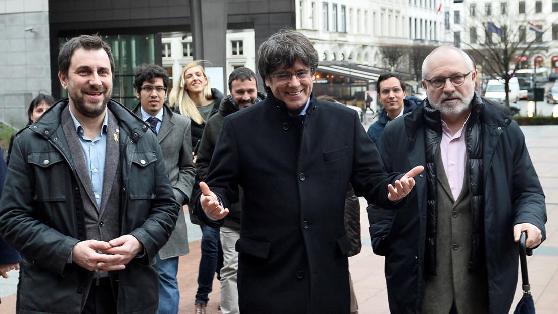 El Parlamento europeo reconoce al expresidente catalán Carles Puigdemont como eurodiputado con inmunidad