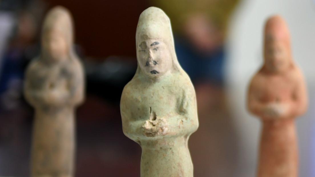VIDEO: Arqueólogos descubren  en China una tumba de 1.300 años de antigüedad