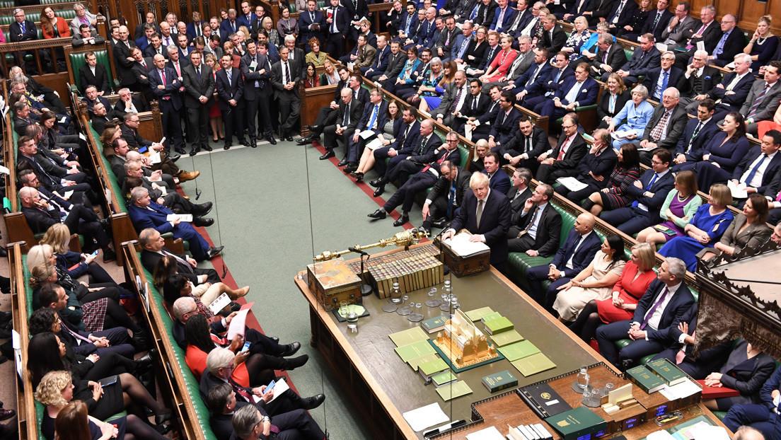 El Parlamento de Reino Unido aprueba un borrador del proyecto de Boris Johnson para que el Brexit sea el 31 de enero