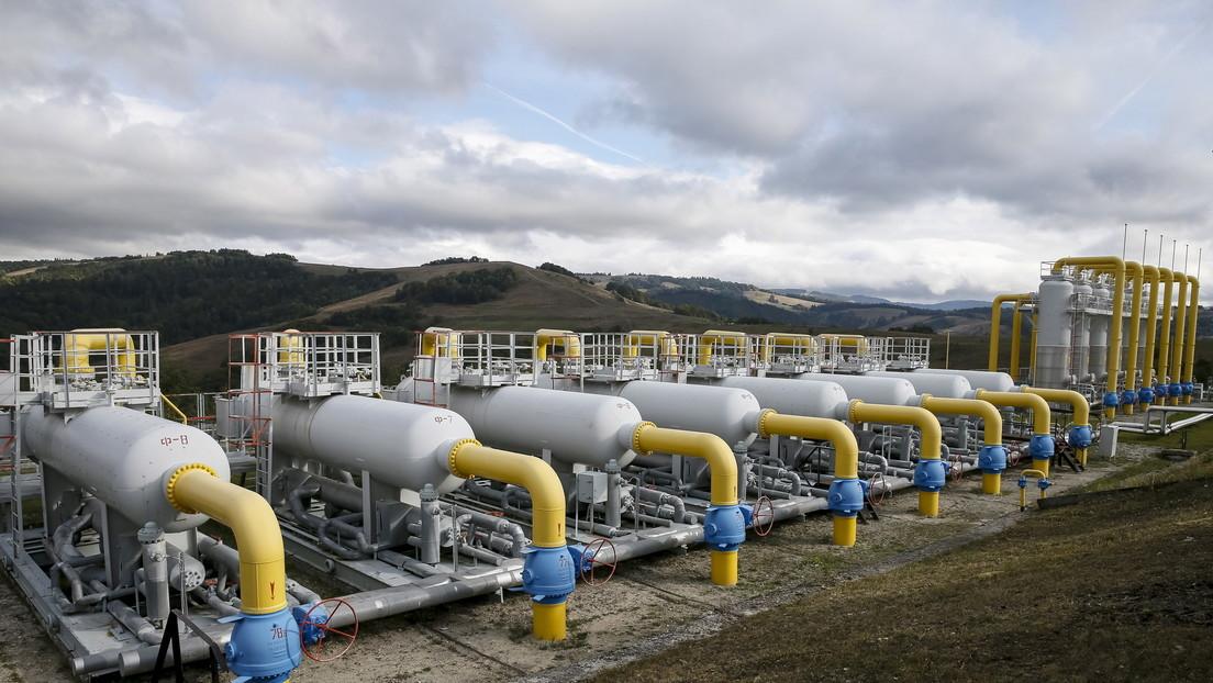 Rusia y Ucrania firman un protocolo de acuerdo sobre el tránsito de gas a Europa