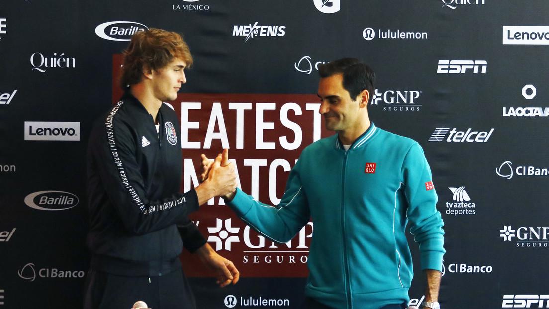 """""""Suponía demasiado estrés y presión para todos"""": Roger Federer lloró tras cancelarse su partido en Colombia debido a los disturbios"""