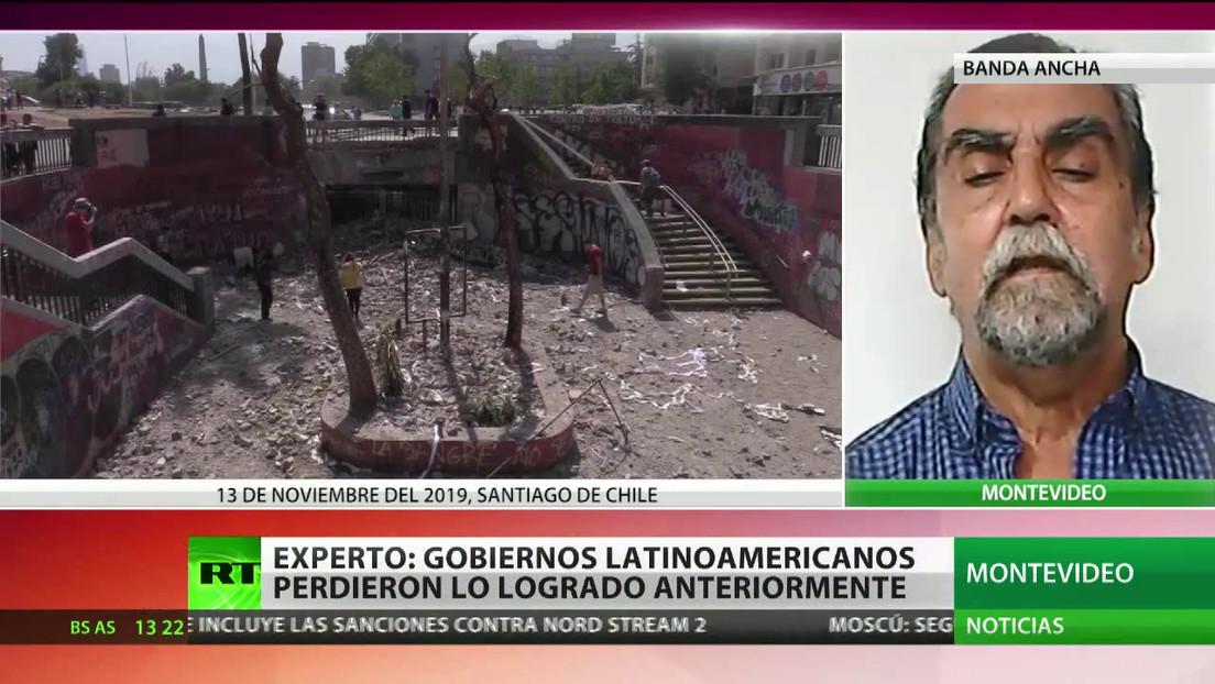 """Experto: """"Gobiernos latinoamericanos perdieron lo logrado anteriormente"""""""