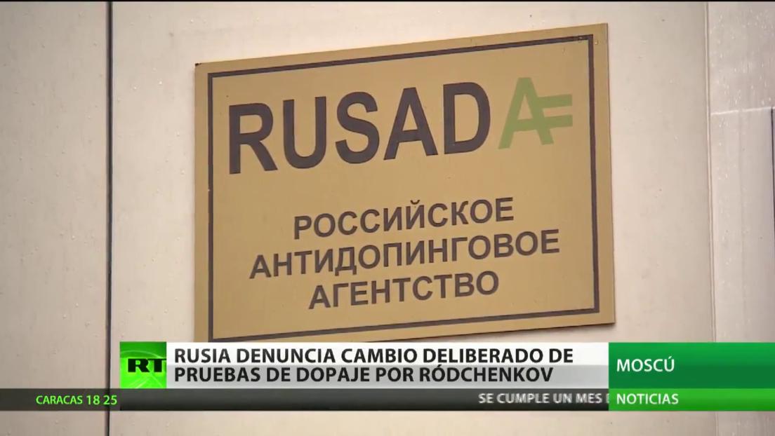 Rusia denuncia cambio deliberado de pruebas de dopaje por Ródchenkov, pero la WADA lo ignora