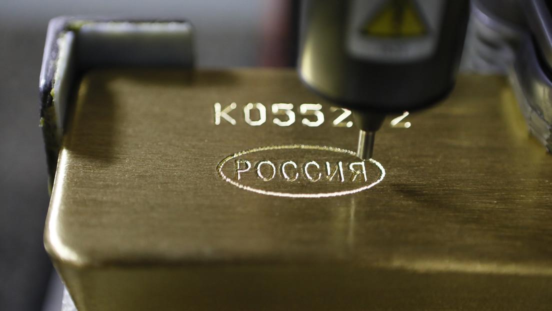 Rusia aumenta la producción de oro un 18 % en medio año