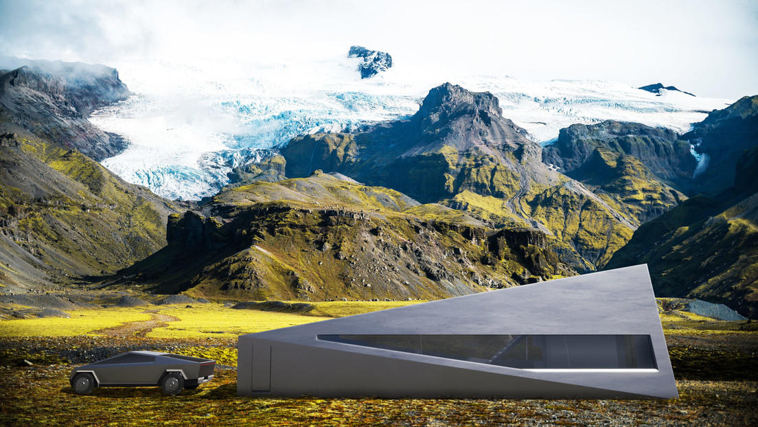 FOTOS: Presentan el garaje ideal para el Cybertruck (y es una verdadera casa autónoma)