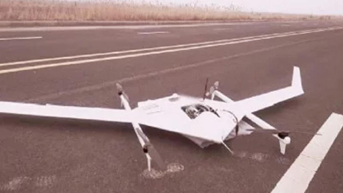 Desarrollan en China una batería de metanol que permite a un dron volar hasta 12 horas