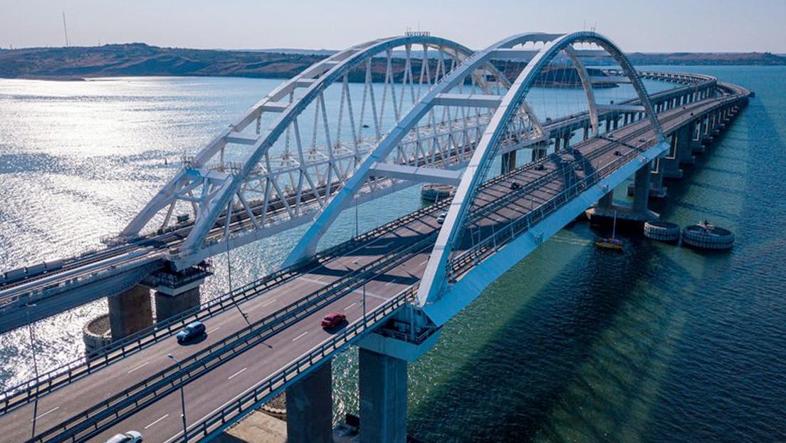 Se completa la 'obra del siglo': el puente de Crimea abre al tráfico ferroviario
