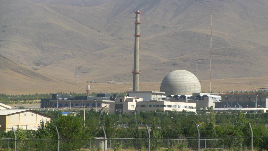 Irán pone en marcha uno de los circuitos del reactor nuclear de Arak