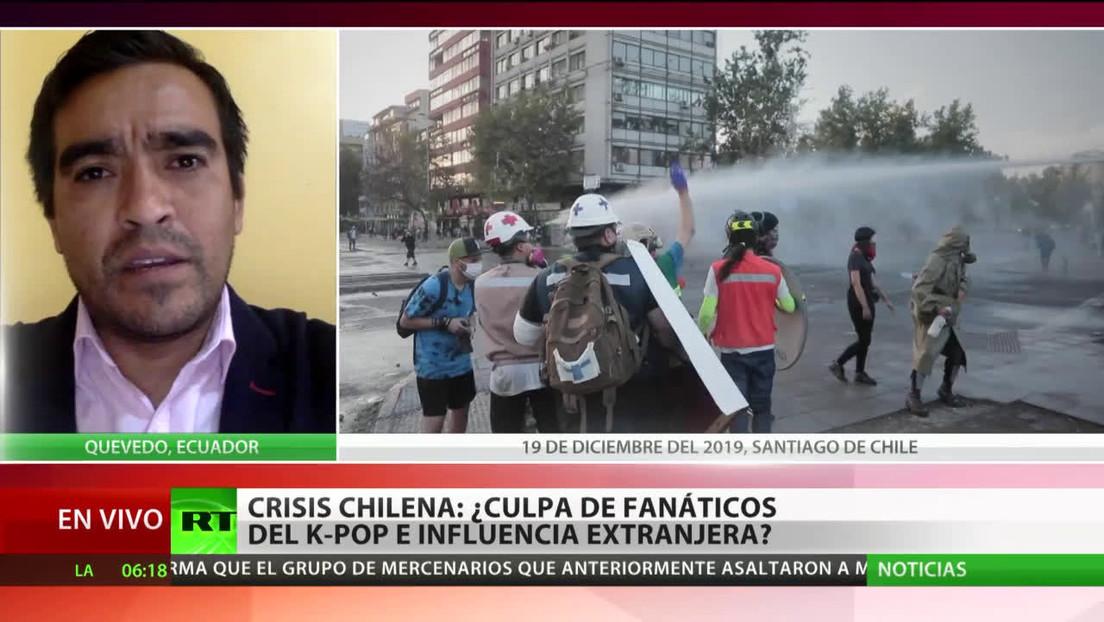 Crisis chilena: ¿Culpa de fanáticos del K-Pop e influencia extranjera?