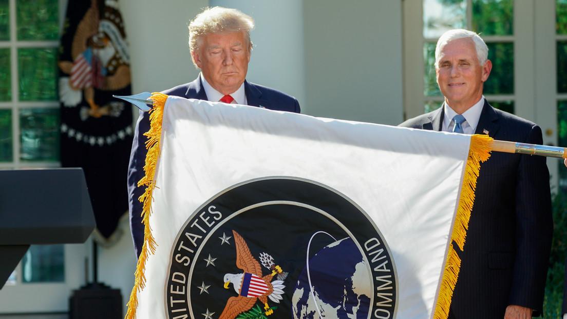 """""""Amenaza directa para la paz"""": China expresa su preocupación por la creación de la Fuerza Espacial de EE.UU."""