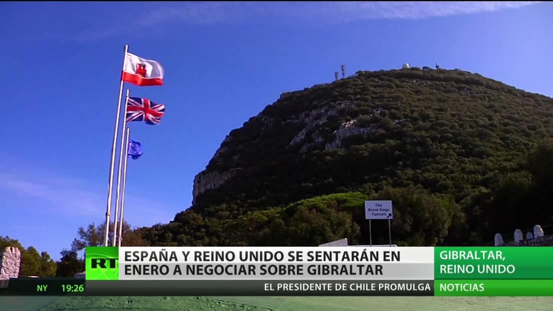 España y Reino Unido se sentarán a negociar sobre Gibraltar en enero