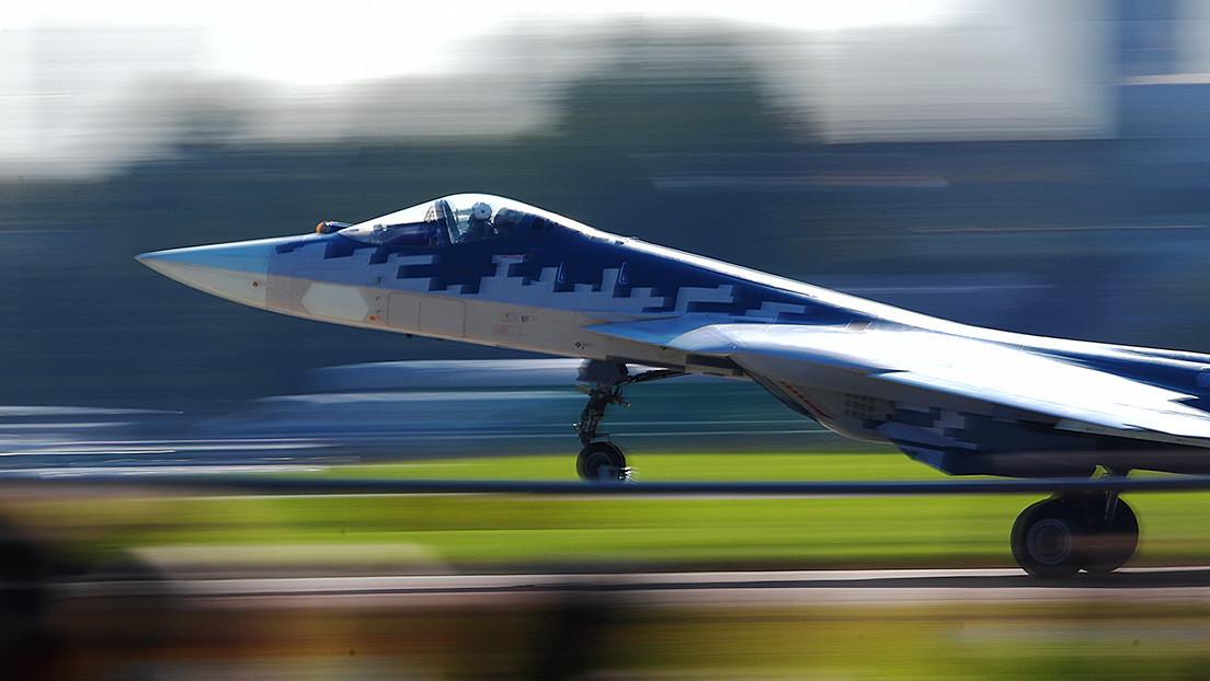 Un caza ruso Su-57 se estrella en el Extremo Oriente del país