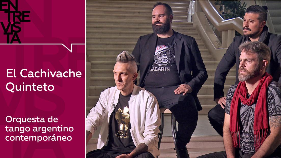 """El Cachivache Quinteto: """"En Argentina todavía hay un núcleo muy duro de puristas del tango, pero la música no debe encasillarse tanto"""""""