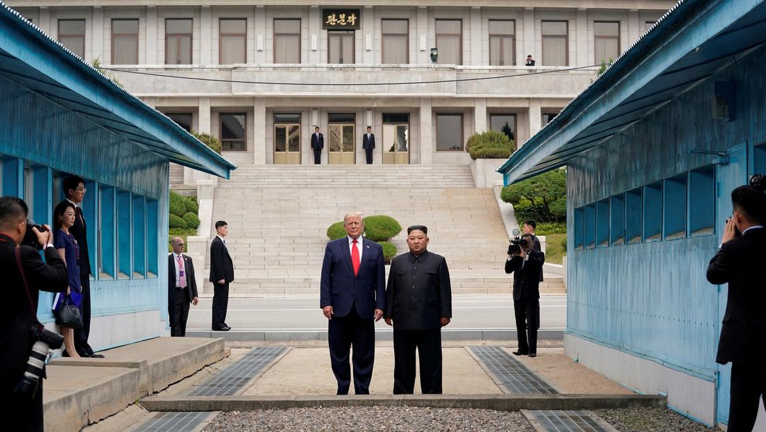 """Trump afirma que EE.UU. """"se ocupará"""" de cualquier sorpresa navideña de Corea del Norte"""