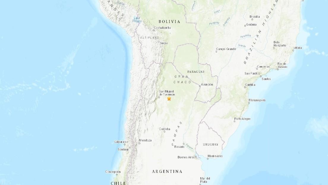 Argentina También Se Sacudió Con Un Sismo De 6.1