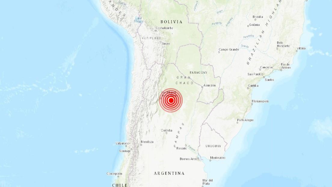 Un sismo de magnitud 6,1 sacude el noroeste de Argentina