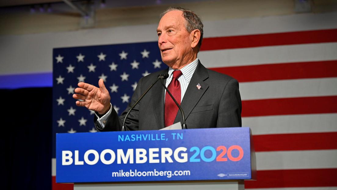 Bloomberg usó mano de obra de presos para realizar llamadas de su campaña presidencial
