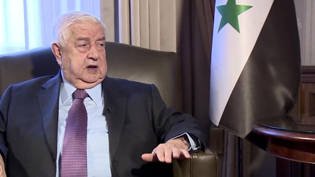 """Canciller sirio: """"EE.UU. usa al Estado Islámico como un espantapájaros"""""""