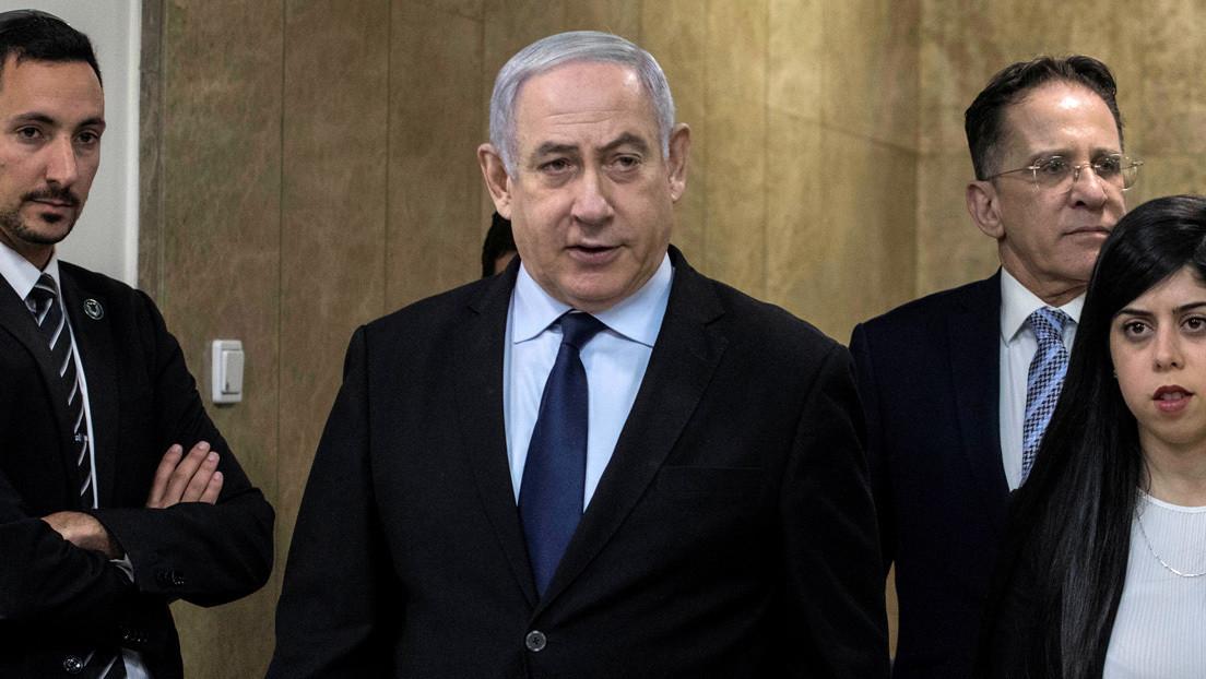 Netanyahu abandona un acto electoral al sonar las sirenas de alerta por lanzamiento de misiles desde Gaza (VIDEO)