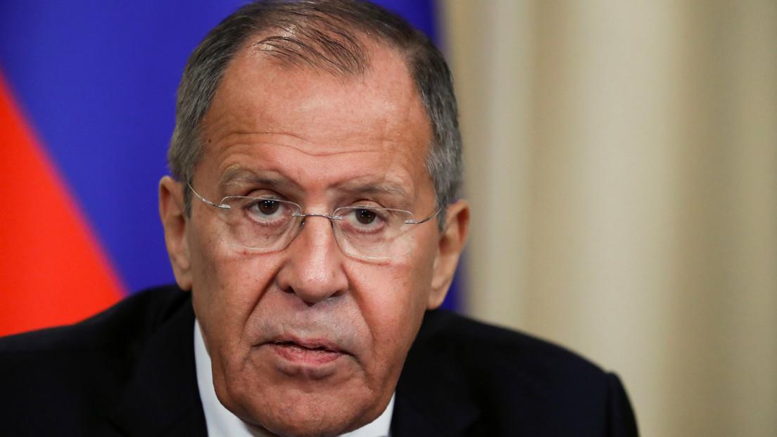 """Lavrov: """"Lo que pasó en América Latina este año hace recordar la olvidada definición del 'continente en llamas'"""""""