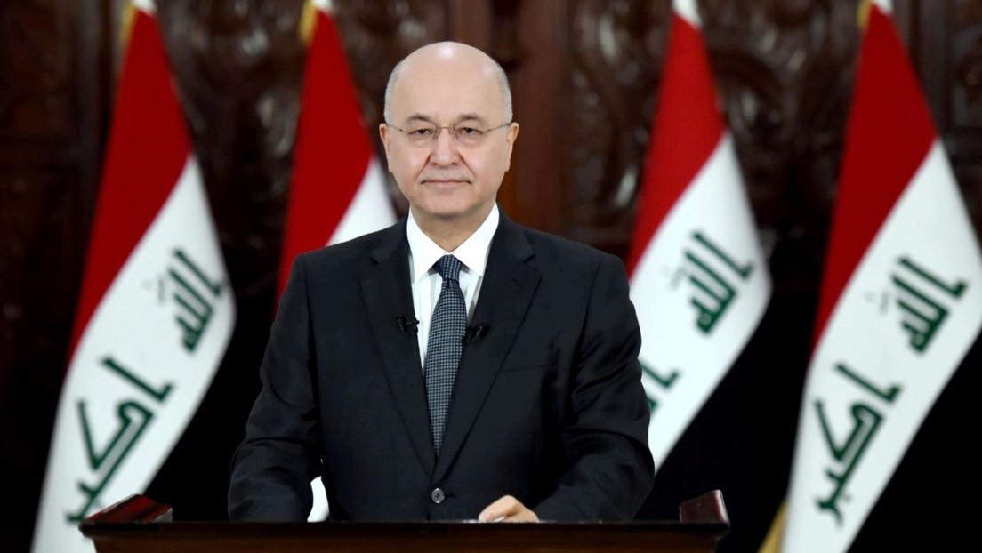 El presidente de Irak presenta su dimisión en medio de un caos de protestas