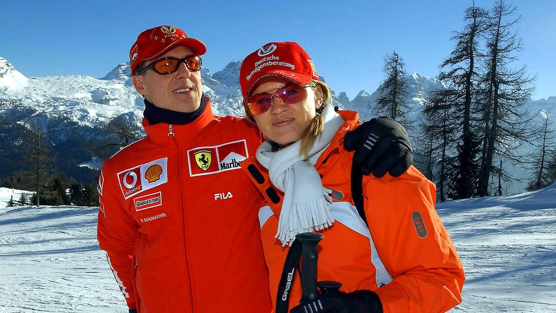 """""""Las cosas grandes comienzan con pequeños pasos"""": esposa de Schumacher ofrece una actualización sobre su salud"""