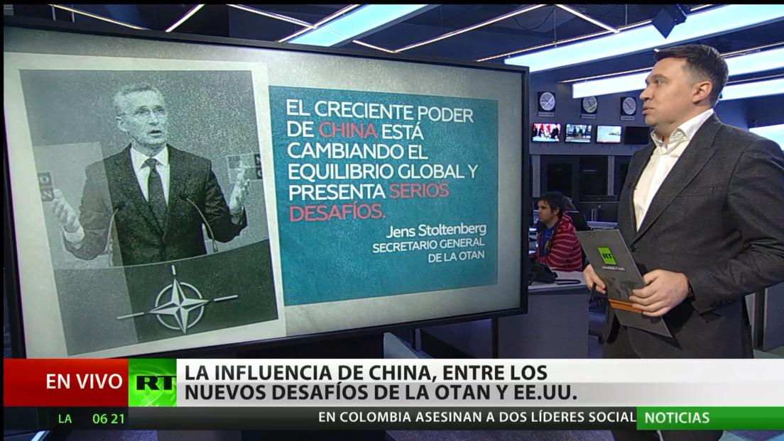 La influencia de China, entre los nuevos desafíos de la OTAN y EE.UU.