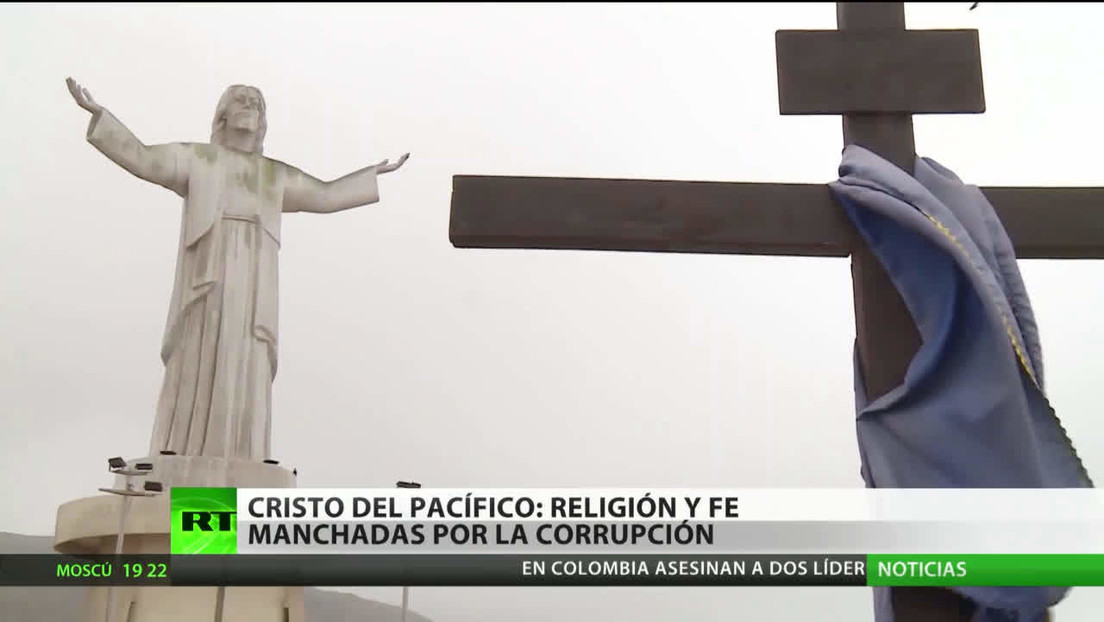 Cristo del Pacífico: religión y fe, manchadas por la corrupción