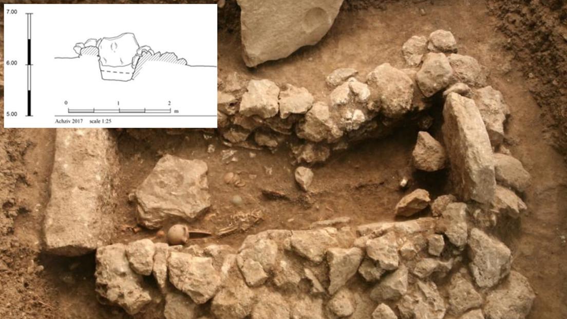 Observan indicios de bienestar en la primera tumba familiar fenicia hallada en Israel