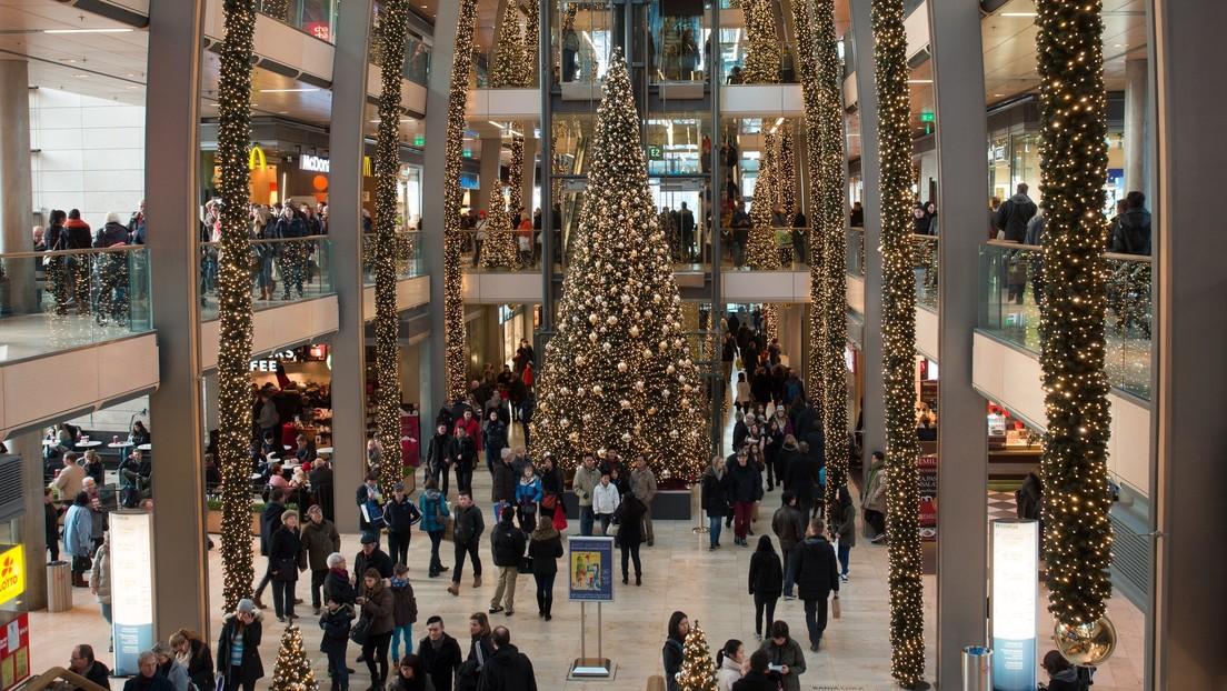 """""""Entrando en el espíritu navideño"""": se desata riña colectiva en un centro comercial de EE.UU. en plena Nochebuena (VIDEO)"""