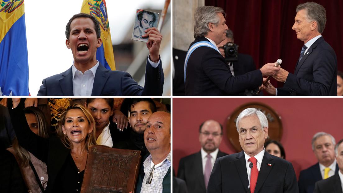 Golpes, protestas y desastres ambientales: Los hechos que marcaron el telúrico 2019 en Latinoamérica