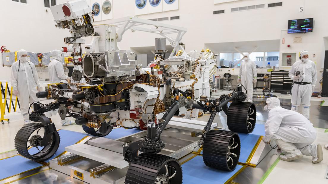 La NASA presenta el Mars 2020, el vehículo que buscará vida antigua en Marte y abrirá camino a misiones humanas