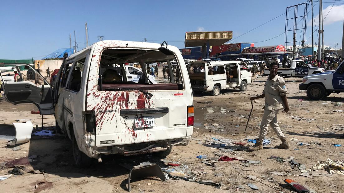 Decenas de muertos en Somalia tras explotar un coche bomba
