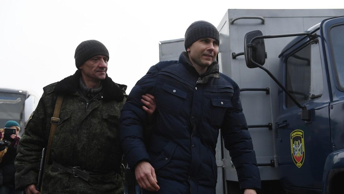 Intercambian presos Ucrania y los rebeldes