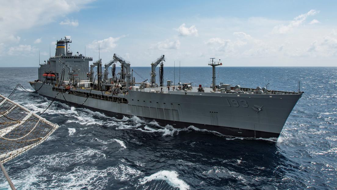 """""""Tiene que abandonar la región"""": Los ejercicios navales de Irán, China y Rusia envían un mensaje contundente a EE.UU."""