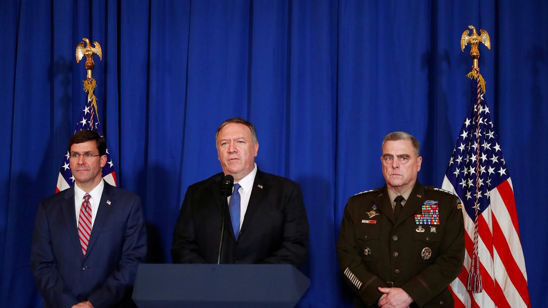 """Trump fue informado por asesores de los """"exitosos"""" ataques aéreos de EE.UU. en Irak y Siria"""