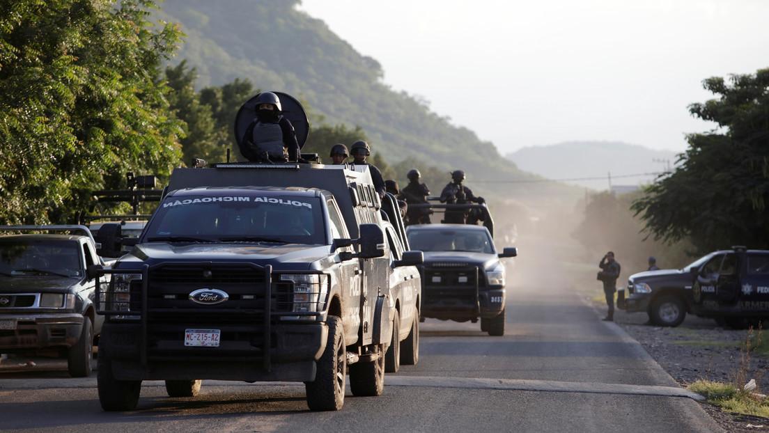 """""""Ahí te vamos"""": Presuntos sicarios del cártel CJNG mandan un video de advertencia a 'El Zarco' de La Nueva Familia Michoacana"""