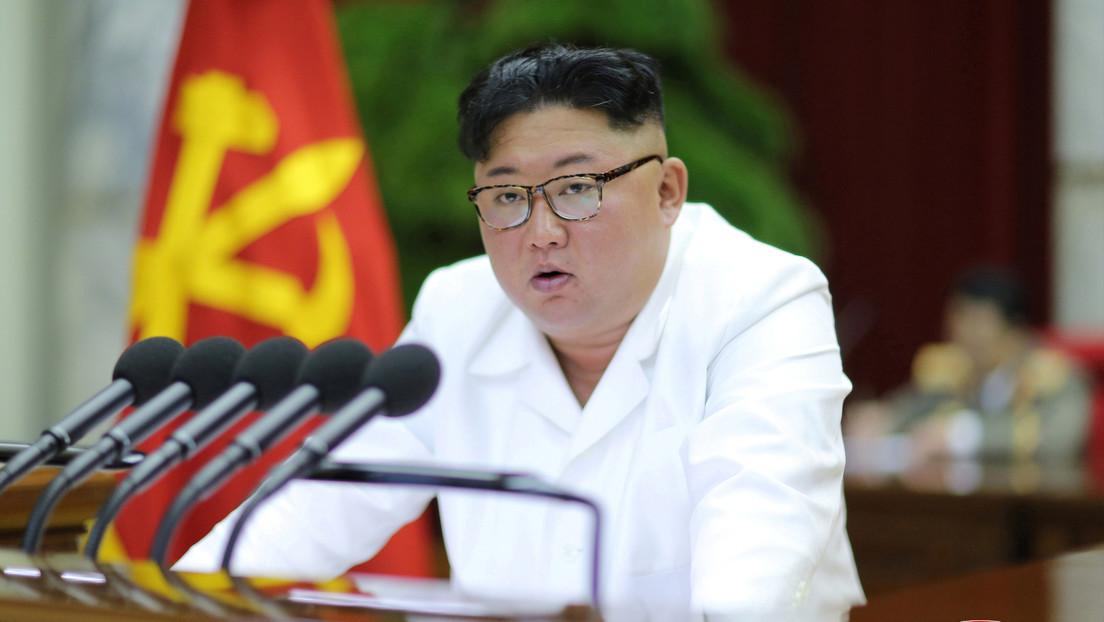 """Kim Jong-un pide medidas """"ofensivas"""" para la seguridad de Corea del Norte"""
