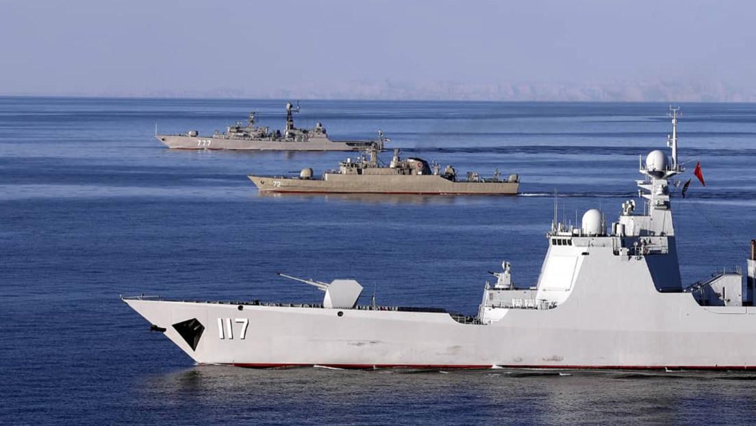 """Almirante iraní: """"No hay una amenaza para el golfo Pérsico, excepto por la presencia de fuerzas extranjeras como EE.UU."""""""