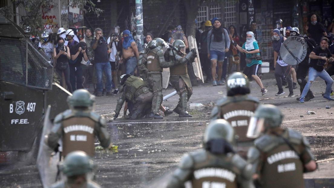 Fiscalía de Chile ordena pericias para elementos disuasivos usados por Carabineros