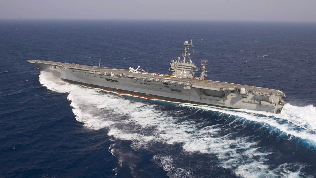 La Casa Blanca rechaza el plan de la Marina de retirar el portaviones USS Truman 25 años antes de lo previsto