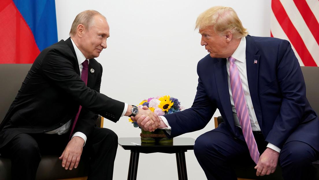 """Trump destaca la """"gran e importante coordinación"""" entre EE.UU. y Rusia tras la ayuda de Washington para impedir atentados en San Petersburgo"""