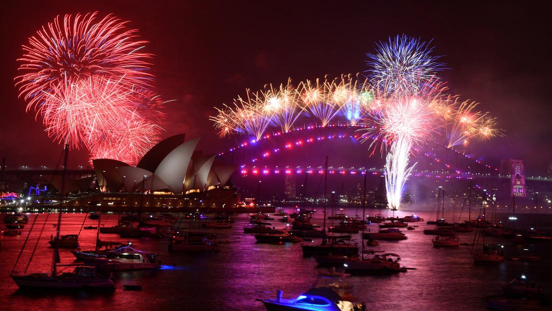Así se celebró la llegada de Año Nuevo en diferentes lugares del planeta