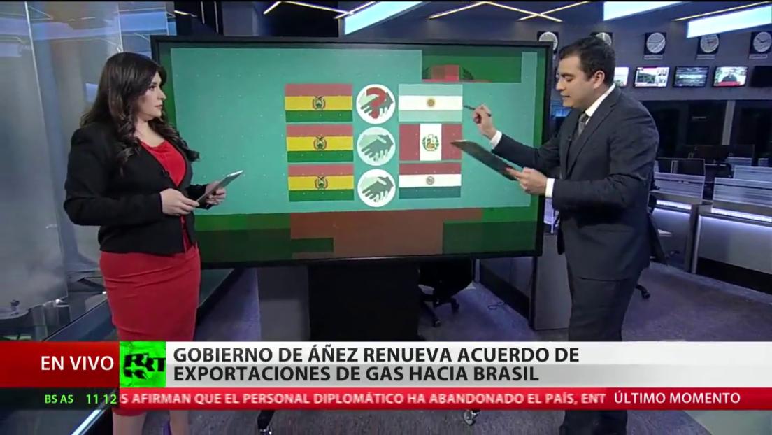El Gobierno de Áñez renueva el acuerdo de exportaciones de gas natural hacia Brasil