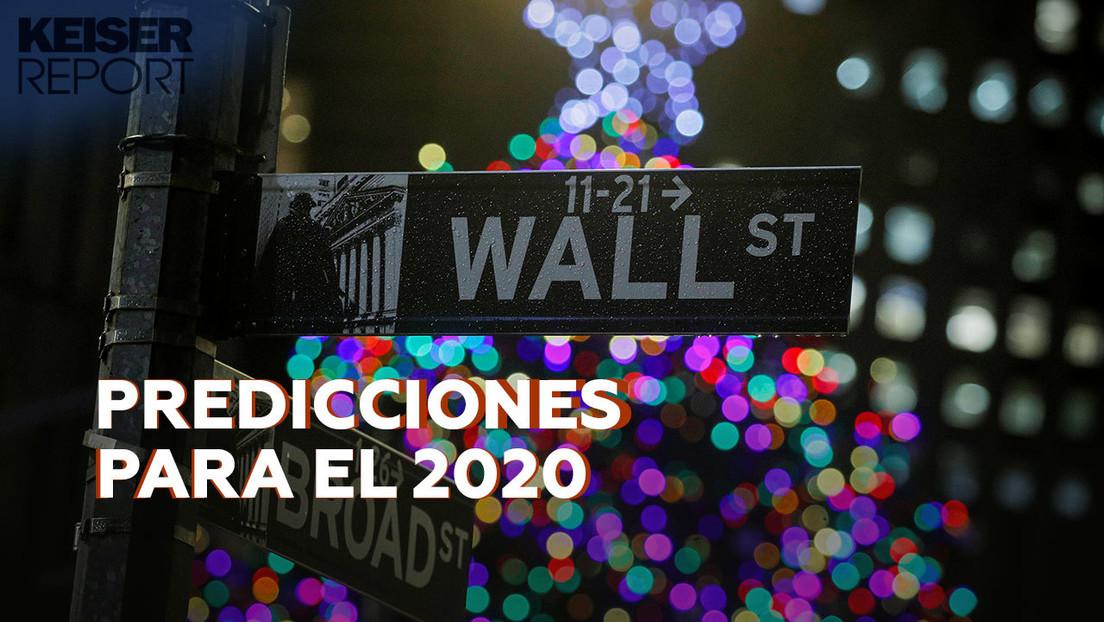 Insurrección global contra la ocupación bancaria, reelección de Trump : las predicciones de 'Keiser Report' para el 2020