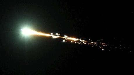 La bola de fuego que cayó en Australia resultó ser una roca que orbitaba la Tierra