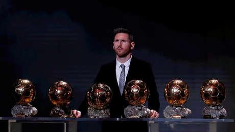Messi explica por qué Cristiano Ronaldo llegó a igualarle en Balones de Oro
